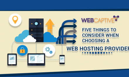 5 Things To Consider When Choosing a Web Hosting Provider
