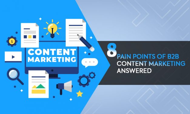 8 PAIN POINTS OF B2B CONTENT MARKETING ANSWERED