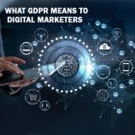 WHAT GDPR MEANS TO DIGITAL MARKETERS